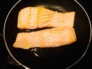 cuisson pavés de saumon