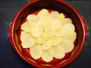 pommes de terre en rondelles