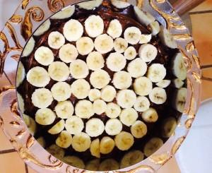 disposition rondelles de bananes