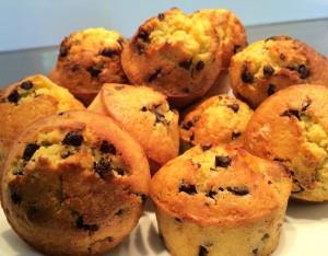 muffins cuits et démoulés