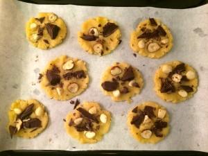 garnie les cookies