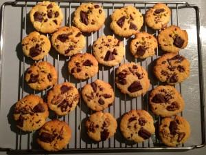 faire refroidir les cookies sur une grille