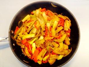 cuisson des légumes