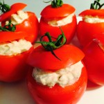 tomates thon ciboulette