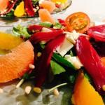 salade magrets orange pamplemousse