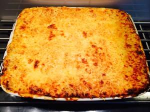 lasagnes cuites