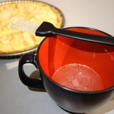Nappage tarte aux fruits