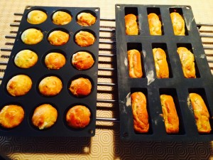 mini-cakes cuits