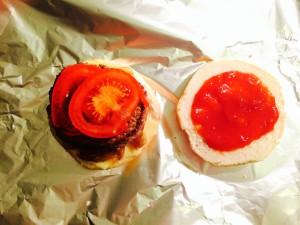 ajout de la tomate
