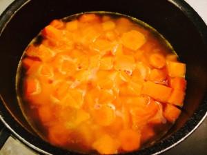 cuisson des carootes et patates douces