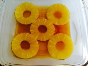 ajout des rondelles ananas