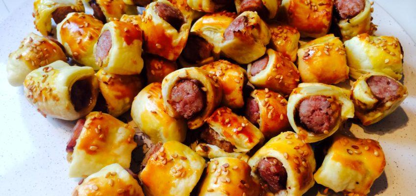 Roulés aux saucisses