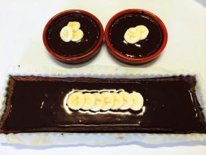 décoration avec des bananes