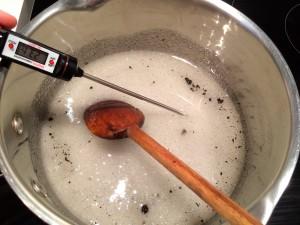 cuisson du sirop de sucre