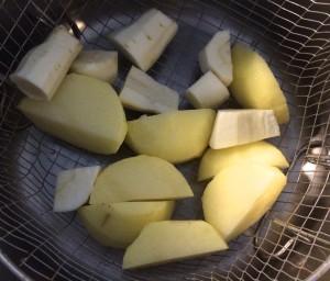 cuisson des pommes de terre et des panais