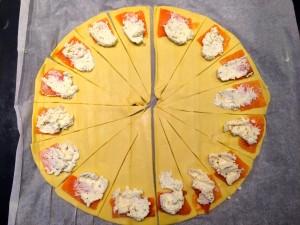 ajout du fromage ail et fines herbes