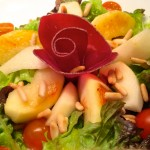 salade pommes poires grison