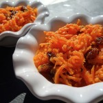 carottes orange raisins secs cannelle