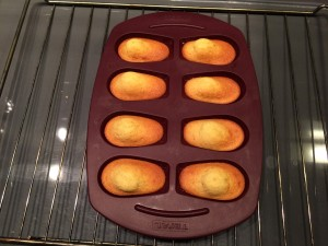 cuisson madeleines