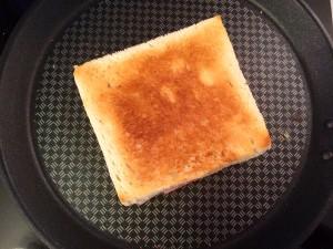 cuisson du croque Monsieur