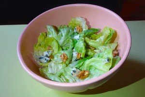 salade roquefort noix