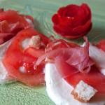 tomates mozzarella jambon