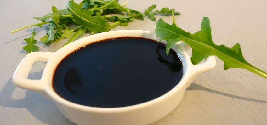 Crème vinaigre balsamique