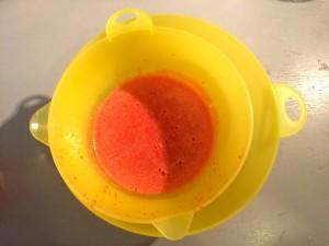 refroidissement du mélange