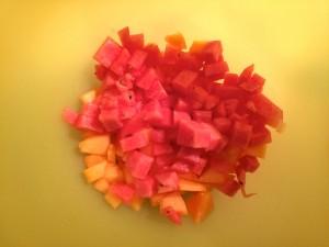morceaux de pastèque