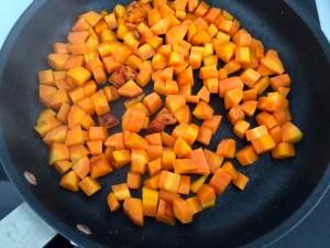 cuisson des carottes