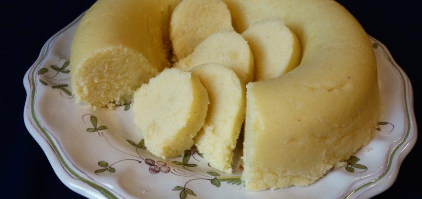 Gâteau salé de semoule