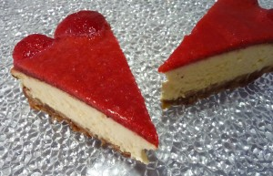 cheesecake citron fruits rouges