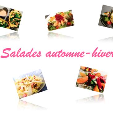 Carnet de recettes Salades automne-hiver