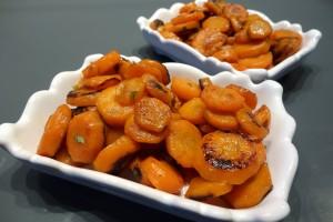 carottes sucrées à l'estragon