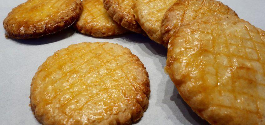 Biscuits beurre salé