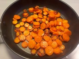faire dorer les carottes
