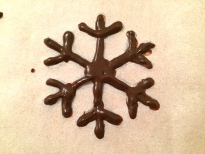 flocon en chocolat