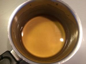 mélange huile et miel