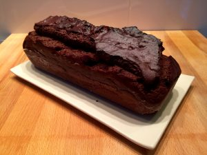 cake au chocolat démoulé