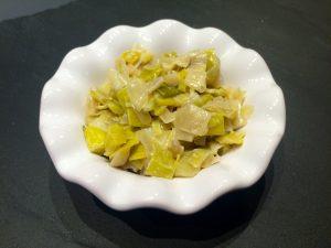fondue de poireaux