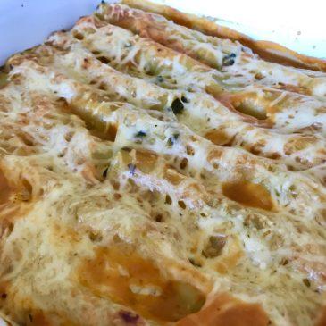 Cannelloni épinards feta